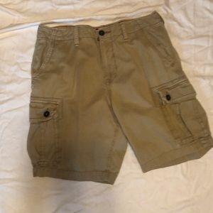 American Eagle shorts, Sz 36, khaki